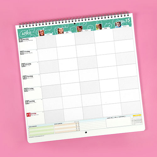 Custom planner 2018 2019 create your own at personalplanner wall planner reheart Image collections